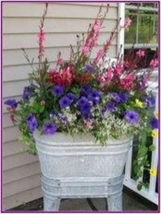 Creative Front Door Flowers Pot Ideas 35