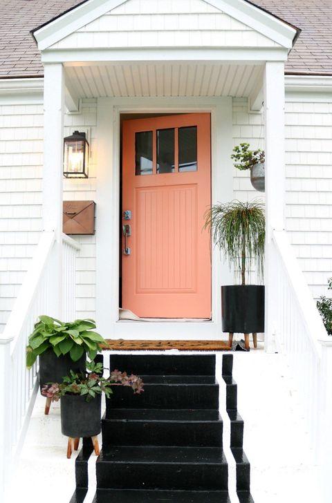 Creative Front Door Flowers Pot Ideas 41
