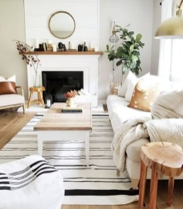 Easy And Simple Neutral Living Room Design Ideas 03