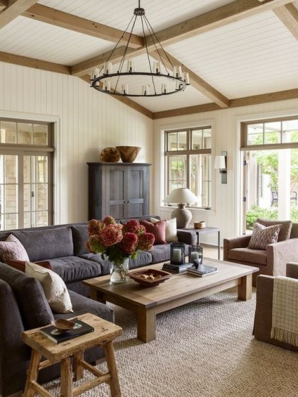 Easy And Simple Neutral Living Room Design Ideas 16