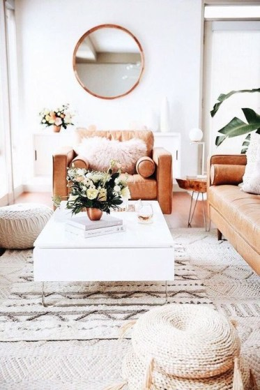 Easy And Simple Neutral Living Room Design Ideas 19