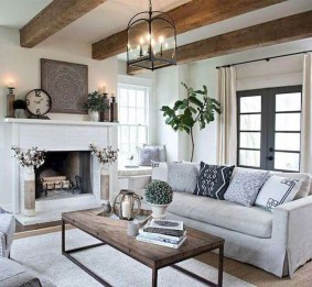 Easy And Simple Neutral Living Room Design Ideas 33