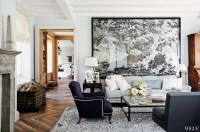 Elegant Room Decoration Ideas With Over Sized Art 30