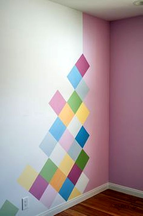 Gorgeous Wall Painting Ideas That So Artsy 44