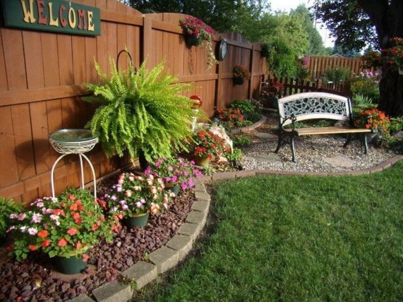 Inspiring Backyard Landscaping Ideas For Your Home 44