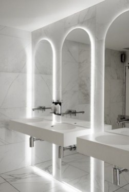 Luxurious Bathroom Mirror Design Ideas For Bathroom 14