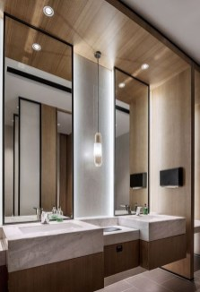Luxurious Bathroom Mirror Design Ideas For Bathroom 19