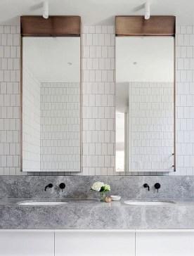 Luxurious Bathroom Mirror Design Ideas For Bathroom 33