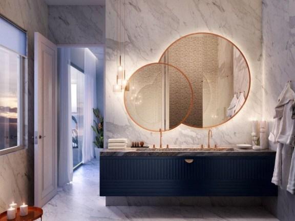 Luxurious Bathroom Mirror Design Ideas For Bathroom 47