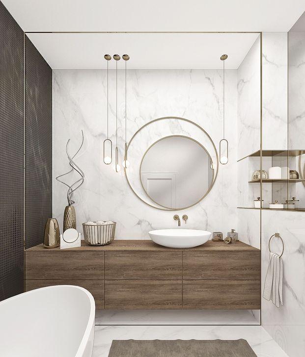 Luxurious Bathroom Mirror Design Ideas For Bathroom 53