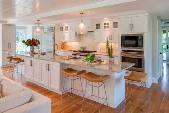 Magnificient Open Plan Kitchen With Feature Island Ideas 15