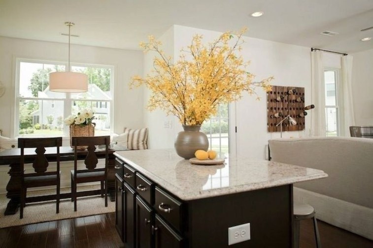 Magnificient Open Plan Kitchen With Feature Island Ideas 25