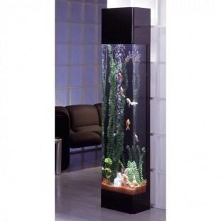 Modern Aquarium Partition Ideas For Living Room 03