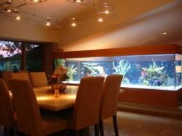 Modern Aquarium Partition Ideas For Living Room 06
