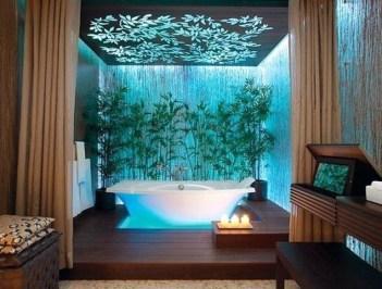 Modern Aquarium Partition Ideas For Living Room 21