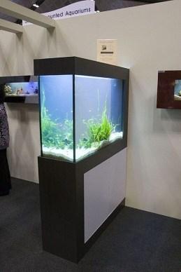 Modern Aquarium Partition Ideas For Living Room 41