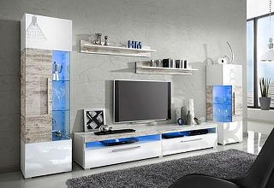 Modern Aquarium Partition Ideas For Living Room 43