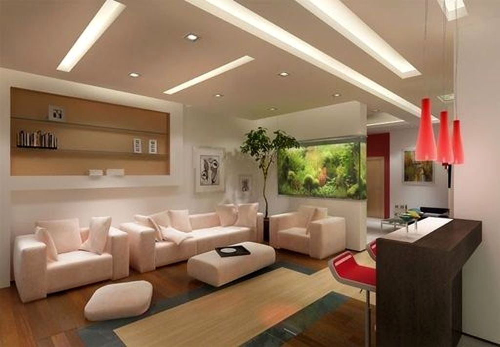 52 Modern Aquarium Partition Ideas For Living Room Homystyle