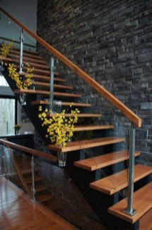 Perfect Glass Staircase Design Ideas 15