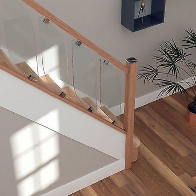 Perfect Glass Staircase Design Ideas 35
