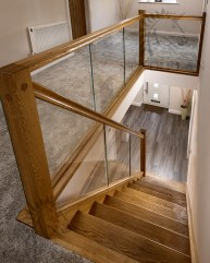 Perfect Glass Staircase Design Ideas 36
