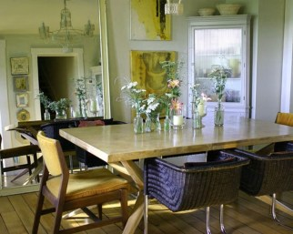 Simple Dining Room Design Ideas For Small Space 18