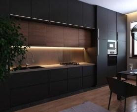 Stunning Dark Grey Kitchen Design Ideas 05