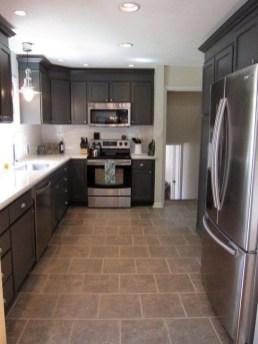Stunning Dark Grey Kitchen Design Ideas 22