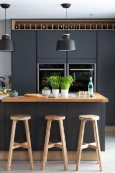 Stunning Dark Grey Kitchen Design Ideas 23