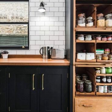Stunning Dark Grey Kitchen Design Ideas 31