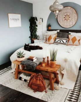Totally Inspiring Bohemian Apartment Decor On A Budget 24