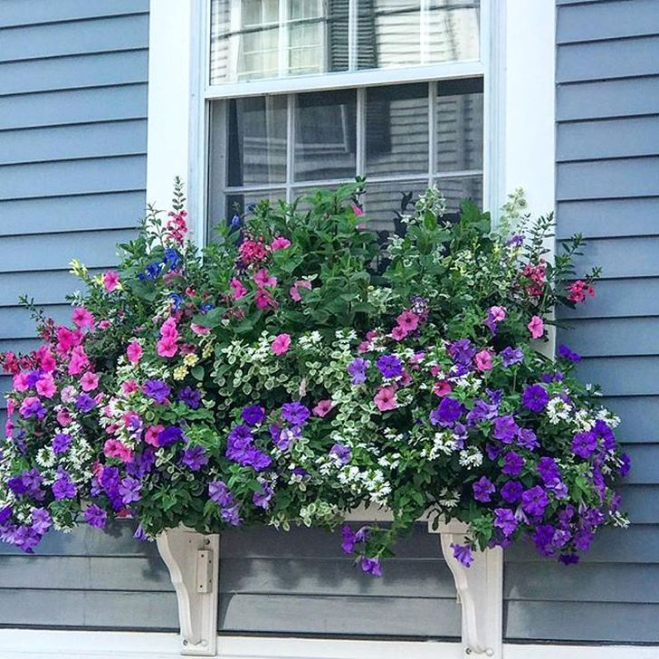 Wonderful Window Box Planters Yo Beautify Up Your Home 32