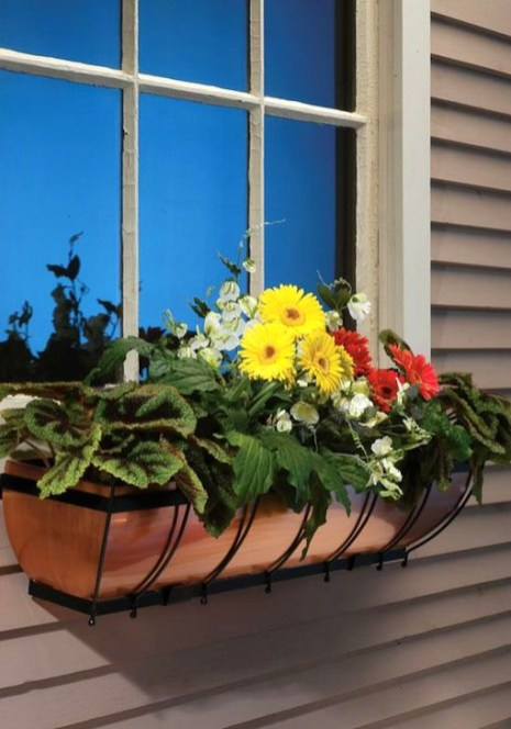 Wonderful Window Box Planters Yo Beautify Up Your Home 50