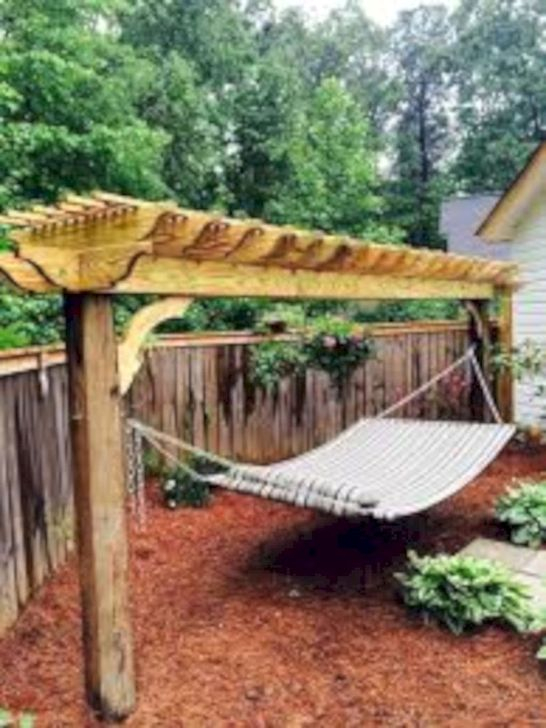 Affordable Backyard Hammock Decor Ideas For Summer Vibes 27