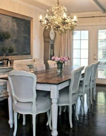 Amazing Dining Room Design Ideas With French Style 29