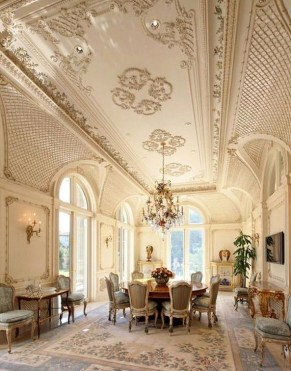 Amazing Dining Room Design Ideas With French Style 41