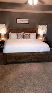 Charming Bedroom Furniture Ideas To Get Farmhouse Vibes 34