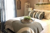 Charming Bedroom Furniture Ideas To Get Farmhouse Vibes 45
