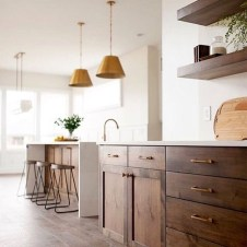Contemporary Wooden Kitchen Cabinets For Home Inspiration 10