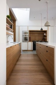 Contemporary Wooden Kitchen Cabinets For Home Inspiration 23