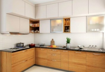 Contemporary Wooden Kitchen Cabinets For Home Inspiration 31