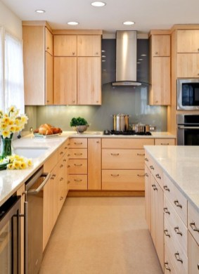 Contemporary Wooden Kitchen Cabinets For Home Inspiration 37