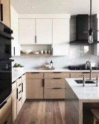 Contemporary Wooden Kitchen Cabinets For Home Inspiration 41