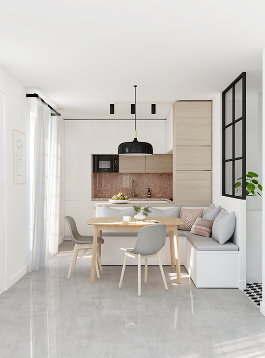 Cozy Small Kitchen Design Ideas On A Budget 20