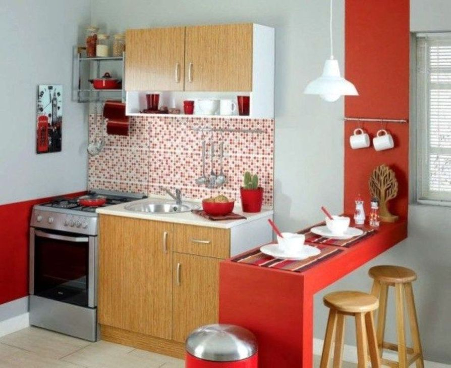 50 Cozy Small Kitchen Design Ideas On A Budget - HOMYSTYLE