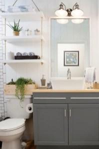 Elegant Wood Decor Ideas For Your Bathroom Design 22