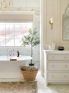 Elegant Wood Decor Ideas For Your Bathroom Design 37