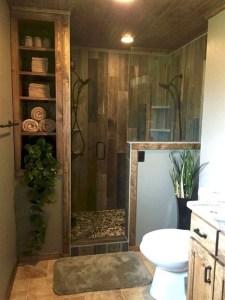 Elegant Wood Decor Ideas For Your Bathroom Design 40