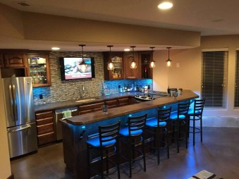 Fabulous Home Bar Designs You'll Go Crazy For 19