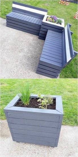 Genius DIY Projects Pallet For Garden Design Ideas 07